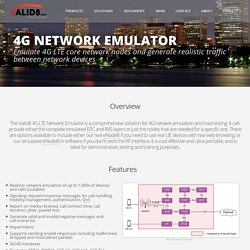 4G Network Emulator