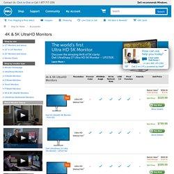 4K & 5K UltraHD Monitors