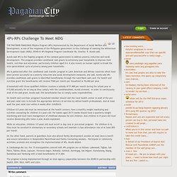 4Ps-RPs Challenge To Meet MDG