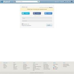almacenamiento y uso compartido de archivos gratis - Iniciar sesión