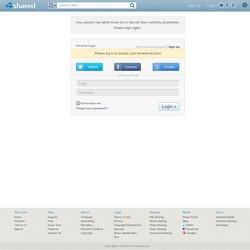 4shared.com - partage et stockage gratuits de fichiers - Connexion