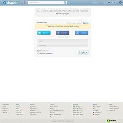 My 4shared - shared folder - free file sharing and storage