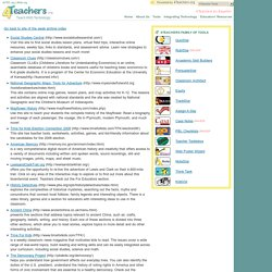 4Teachers : Sites of the Week