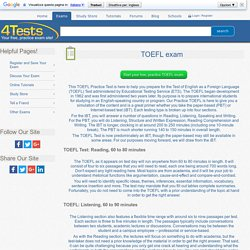 amazon guide de toefl test fourth edition