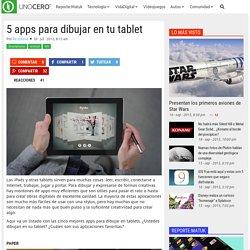 5 apps para dibujar en tu tablet