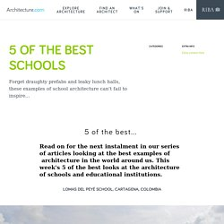 5 of the best schools