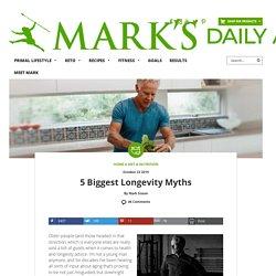 5 Biggest Longevity Myths