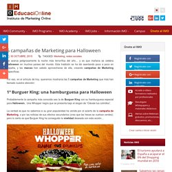 5 campañas de Marketing para Halloween