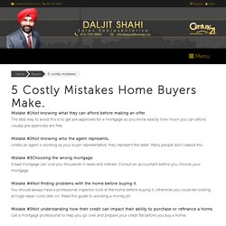 5 costly mistakes