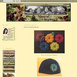 How to Crochet a Flower!
