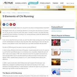 5 Elements of Chi Running
