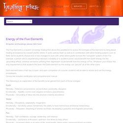 5 elements - Healing Fire