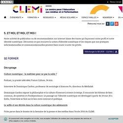 Activités autour de l'identité numérique- CLEMI