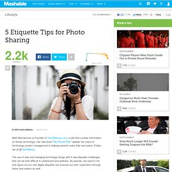 5 Etiquette Tips for Photo Sharing