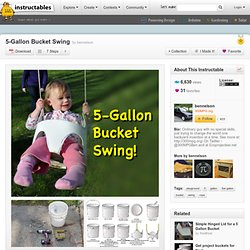 5-Gallon Bucket Swing