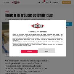 Halte à la fraude scientifique