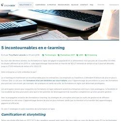 5 incontournables en e-learning