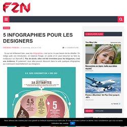 5 infographies pour les designers
