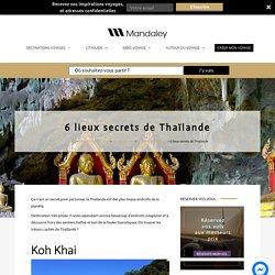 5 lieux secrets de Thaïlande