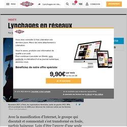 Lynchages en réseaux