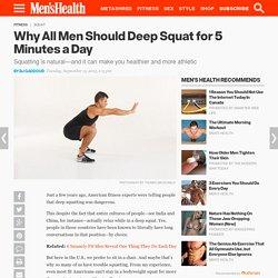 5 Mobility Hacks for Deep Squats