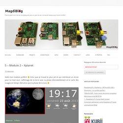5 - Module 2 - Xplanet - MagdiBlog