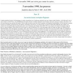 5 novembre 1990 (IV)