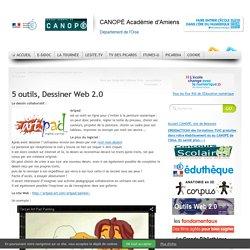 5 outils, Dessiner Web 2.0