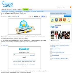 5 outils de veille sur Twitter