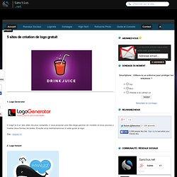 5 sites de création de logo gratuit