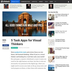 5 Task Apps for Visual Thinkers