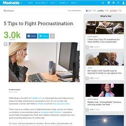 5 Tips to Fight Procrastination