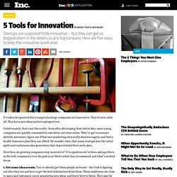 5 Tools for Innovation