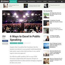 5 ways to excel in public speaking
