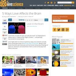 5 Ways Love Affects the Brain
