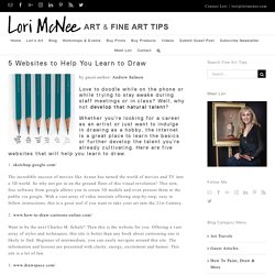 5 Websites to Help You Learn to Draw