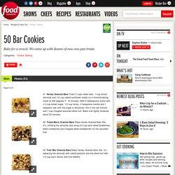 50 Bar Cookies