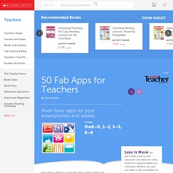 50 Fab Apps for Teachers