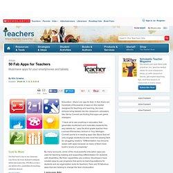 50 Fab Apps for Teachers