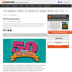 50 free web tools