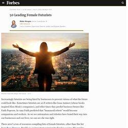 50 Leading Female Futurists