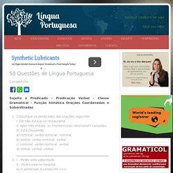 50 Questões de Língua Portuguesa