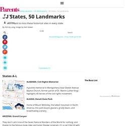 50 States, 50 Landmarks
