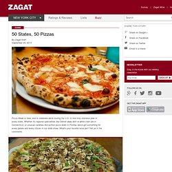 50 States, 50 Pizzas