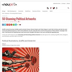 50 Stunning Political Artworks