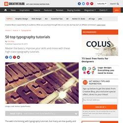 50 top typography tutorials