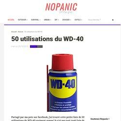 50 utilisations du WD-40