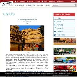 50 voyages à faire dans une vie : Le Rajasthan