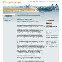 Brisante Begegnung: Die 5000jährige Geschichte von Nomaden und Sesshaften: SFB 586 · Differenz und Integration