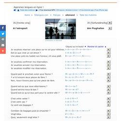 Cours de langues avec supports audio